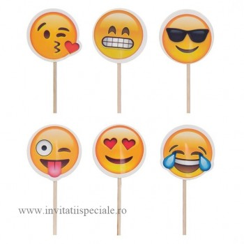 Toppere Emoticoane Mixate - Candy Bar