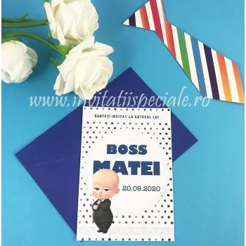 Invitatie BOSS BABY