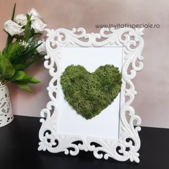 Tablou Licheni Green Heart