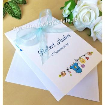 Invitatie Botez Baietel Fundita/Foto
