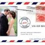 Magnet Nunta Calatorie - Carte Postala