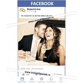 Magnet Nunta Facebook