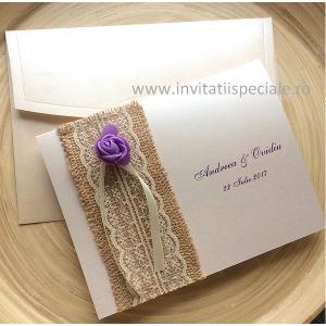 Invitatii Tema Rustic Traditional Invitatiispecialero