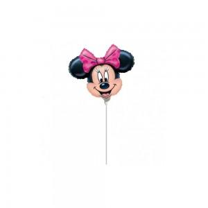 Balon Minnie Mouse MINI Fundita Roz - 24 cm